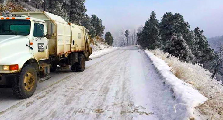 Colorado mountain trash service