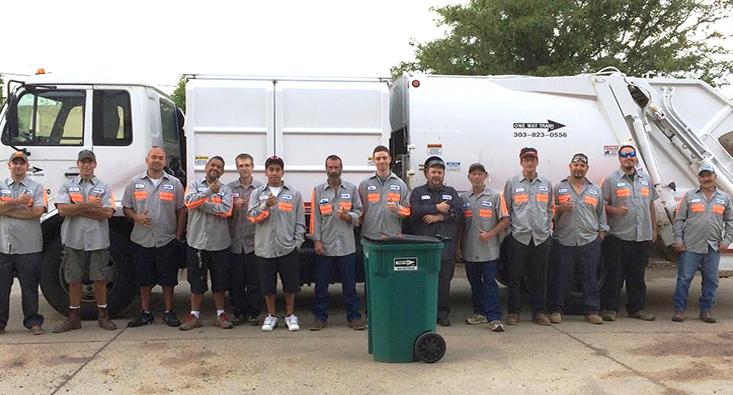 Colorado Team One Way Trash